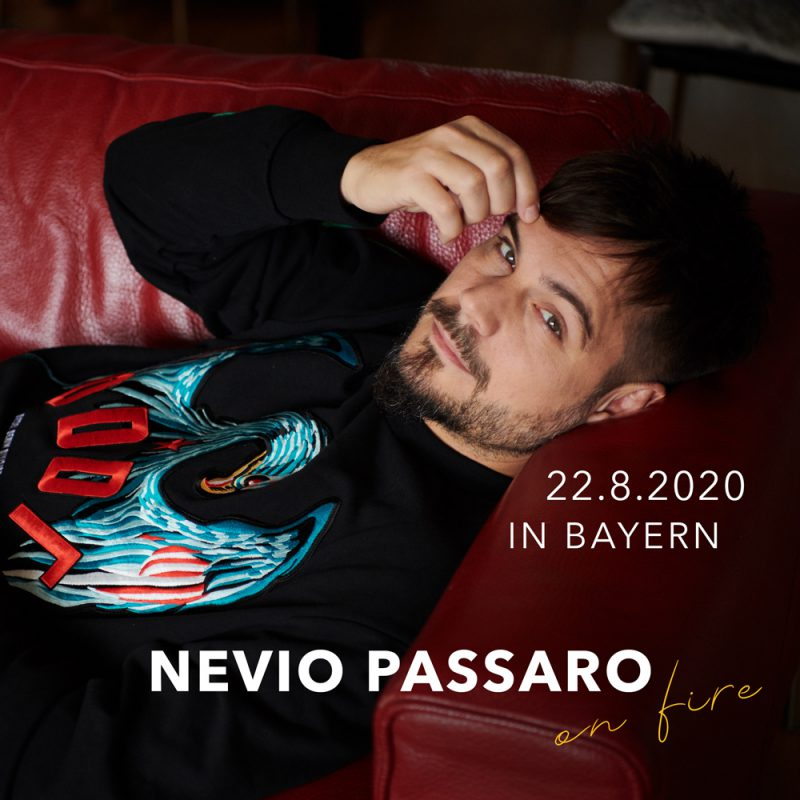 """Nevio Passaro """"on fire"""" Lagerfeuerkonzert"""