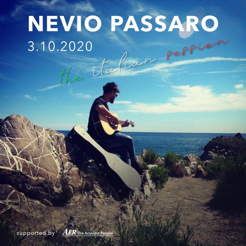 The italian session - Das Onlinekonzert mit Nevio Passaro
